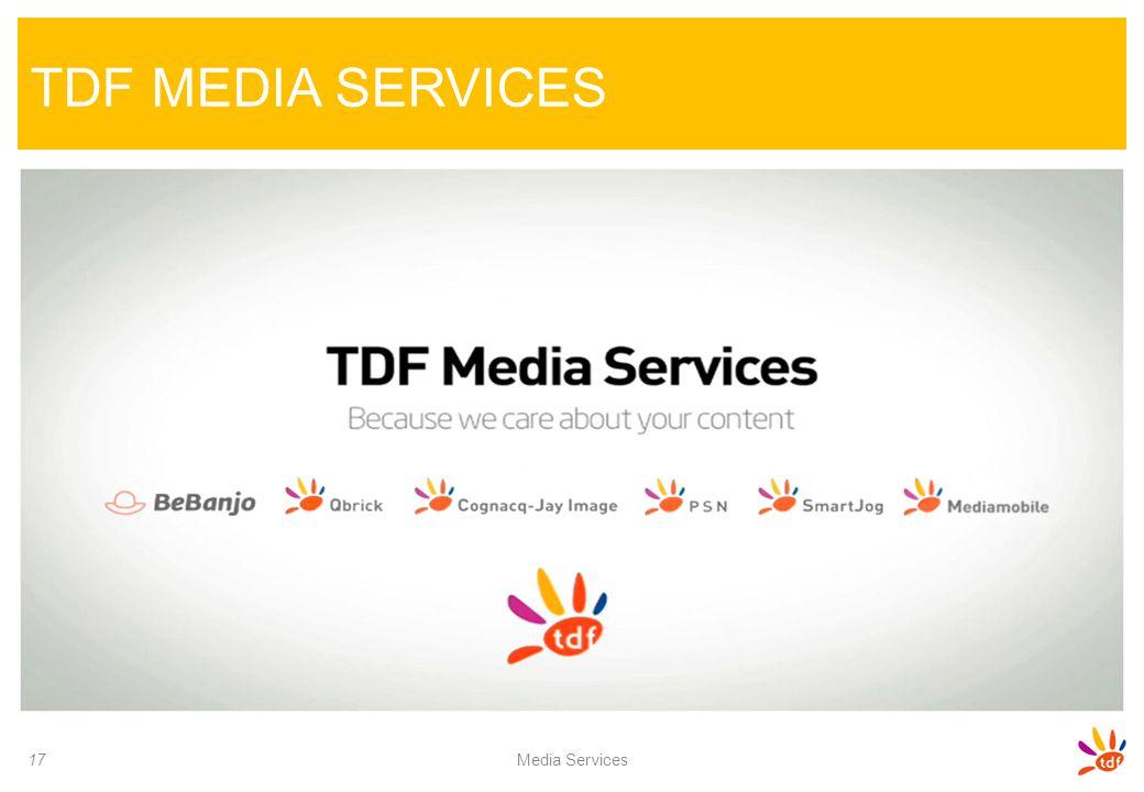 TDF MEDIA SERVICES Media Services