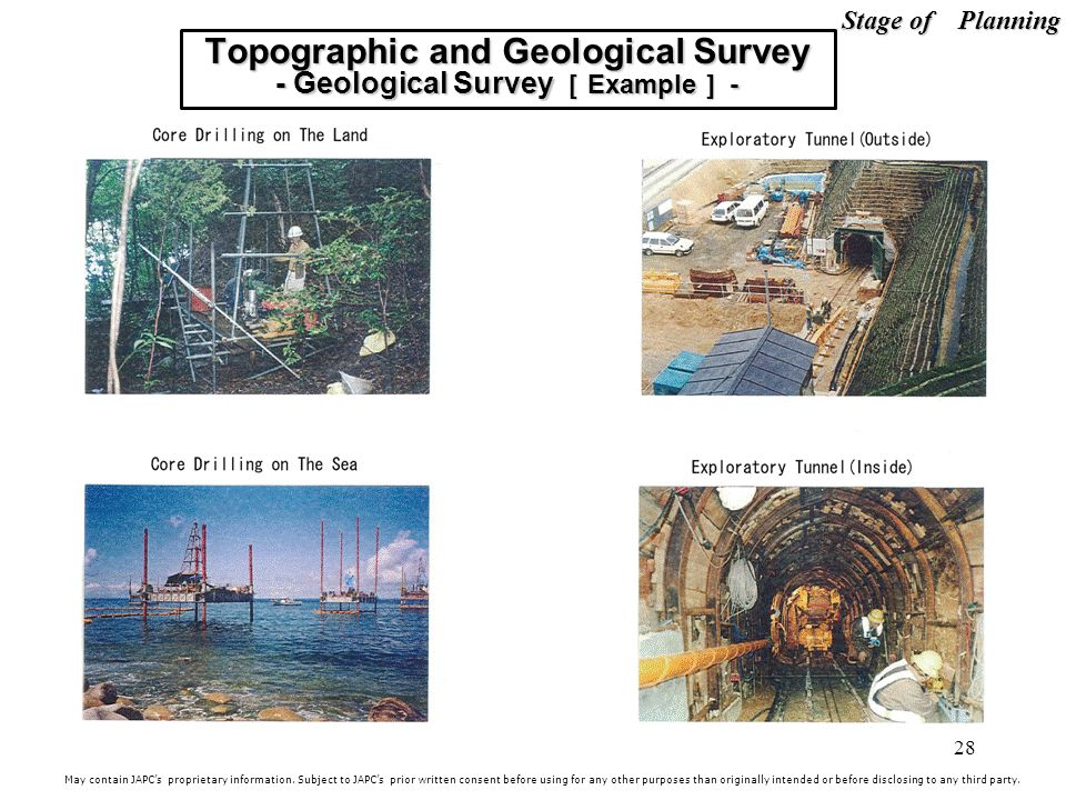 Topographic and Geological Survey - Geological Survey [Example] -