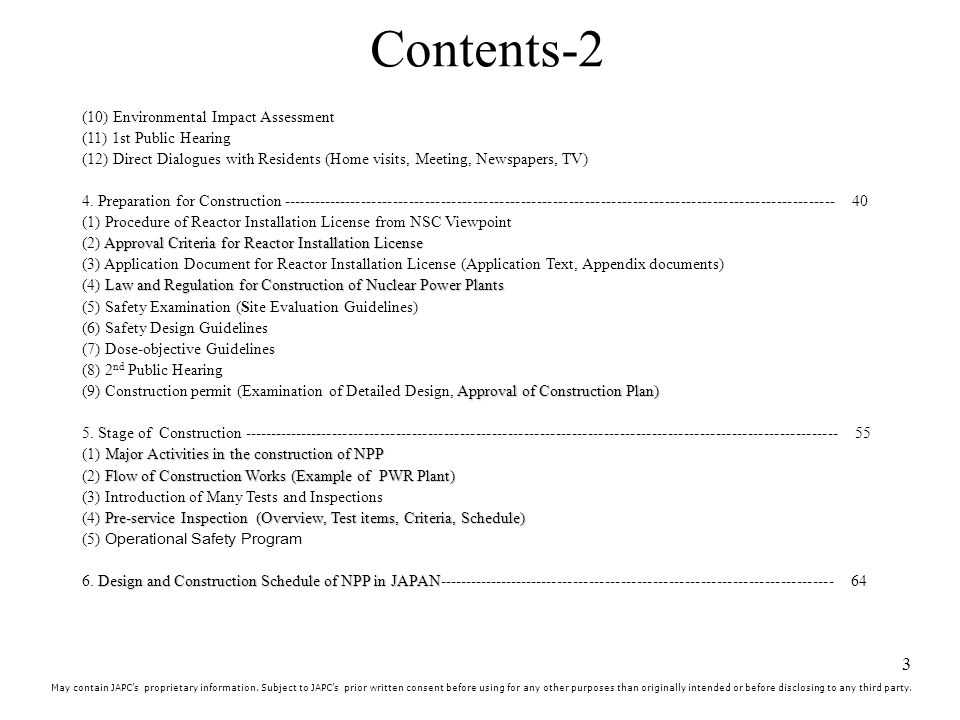 Contents-2 These are contents so I skip them