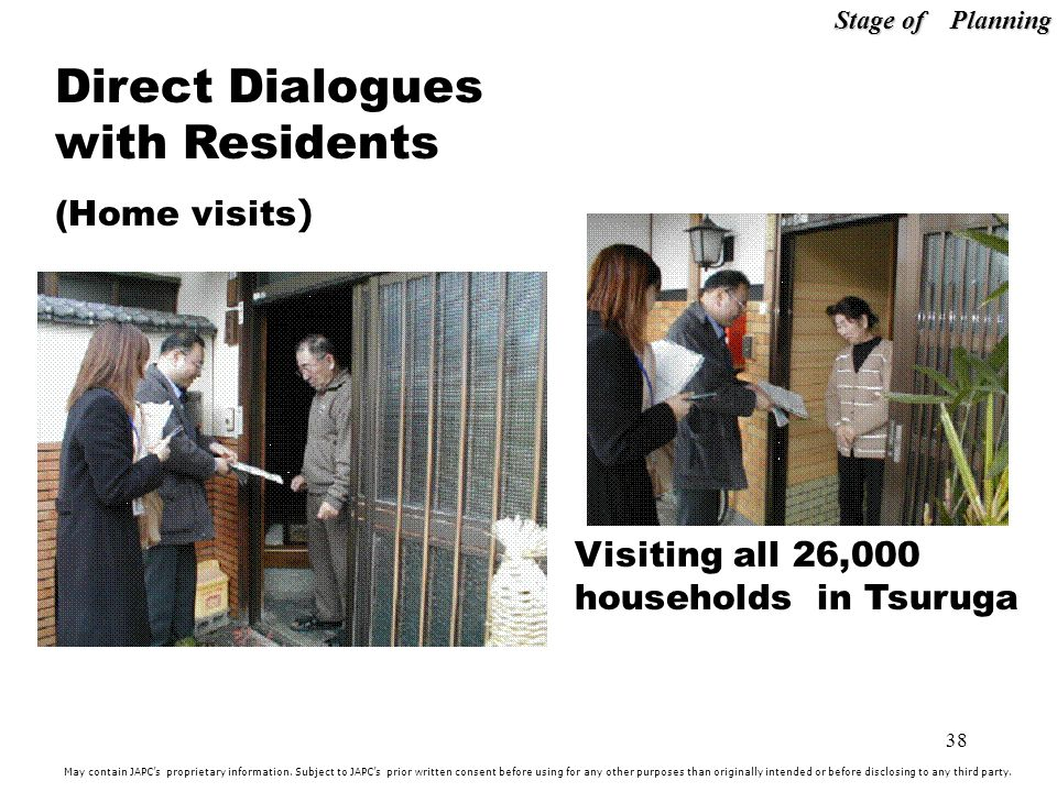Direct Dialogues with Residents