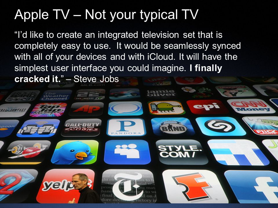 Apple TV – Not your typical TV