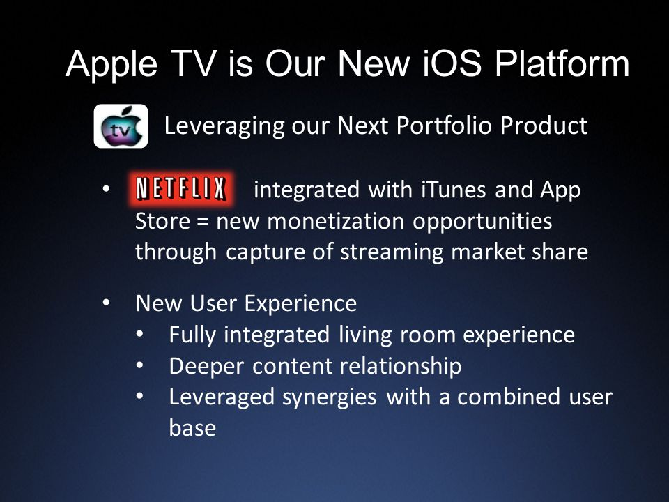 Apple TV is Our New iOS Platform