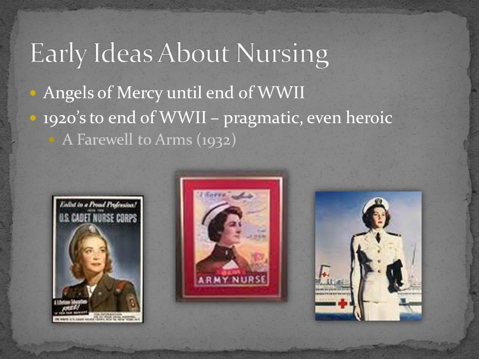 Early Ideas About Nursing