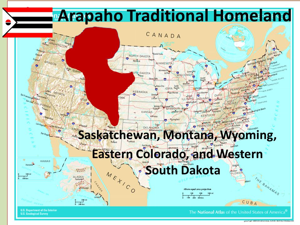 Arapaho Traditional Homeland