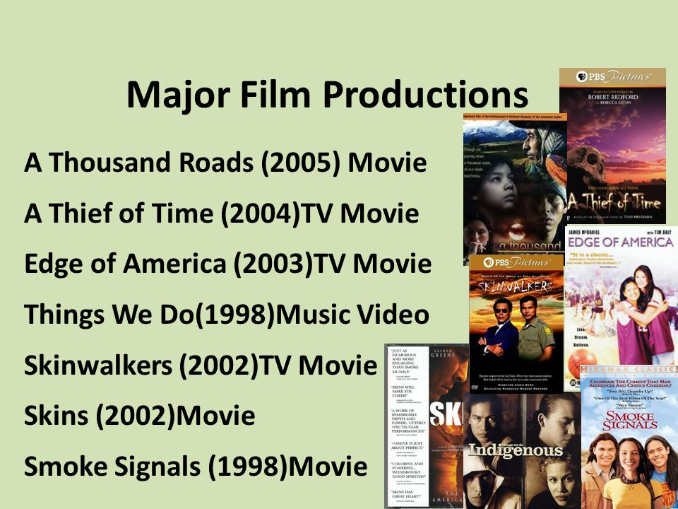 Major Film Productions