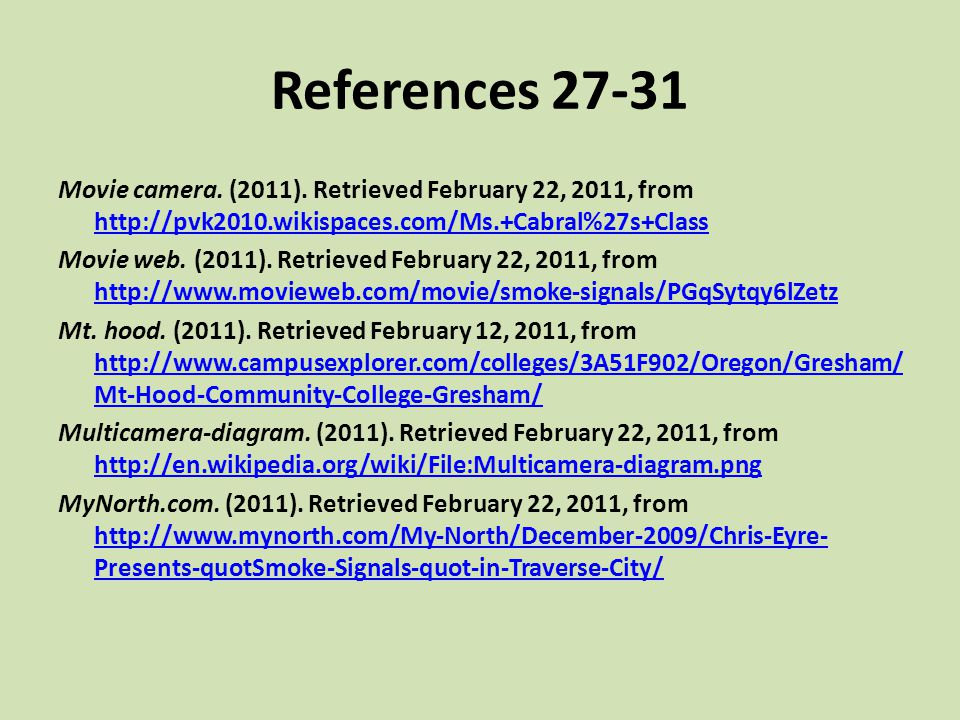 References 27-31