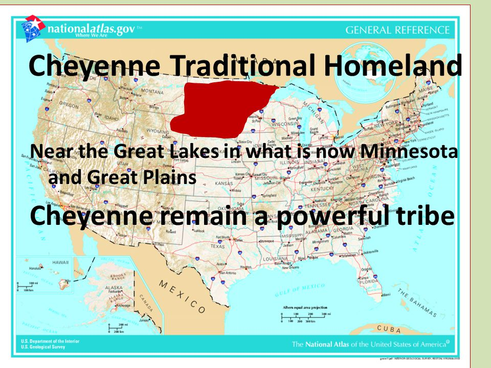 Cheyenne Traditional Homeland