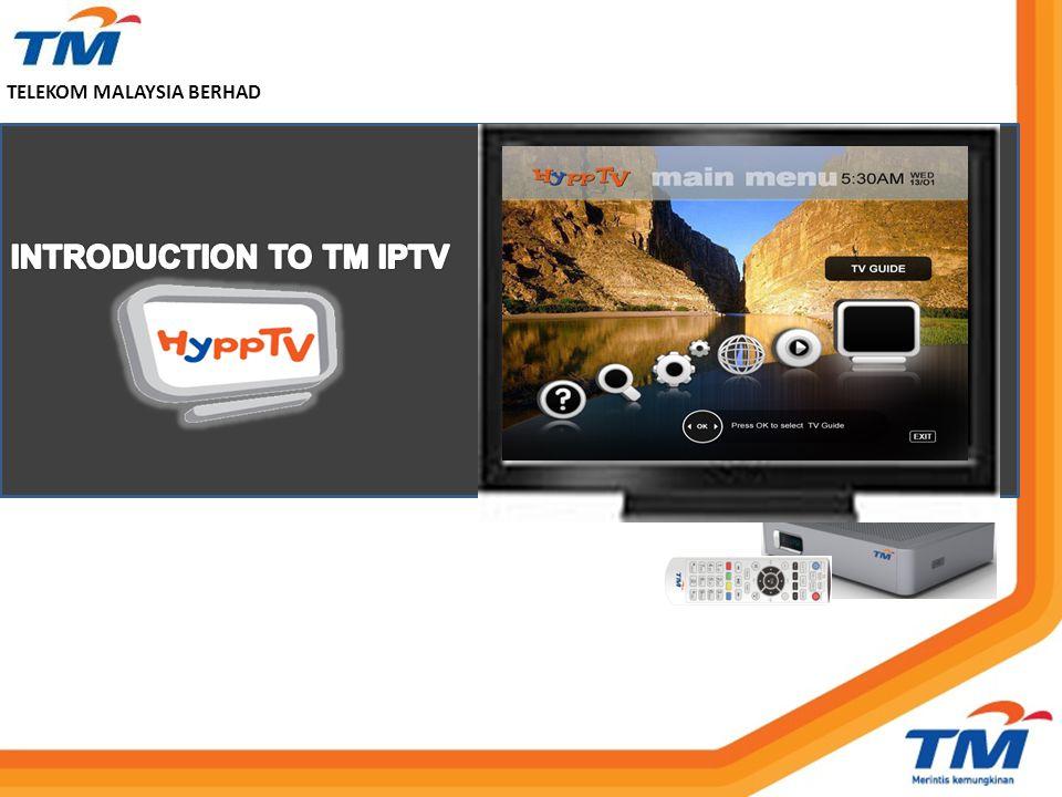 INTRODUCTION TO TM IPTV
