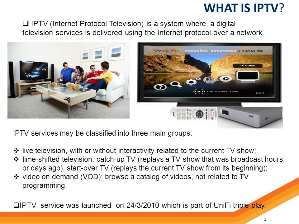 52 WHAT IS IPTV