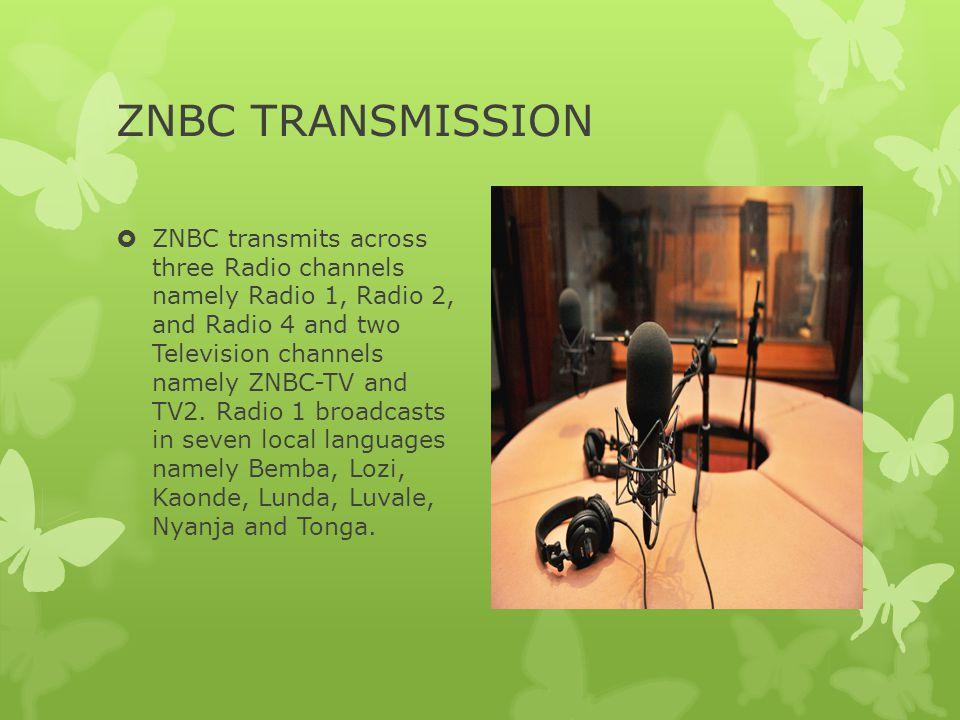 ZNBC TRANSMISSION