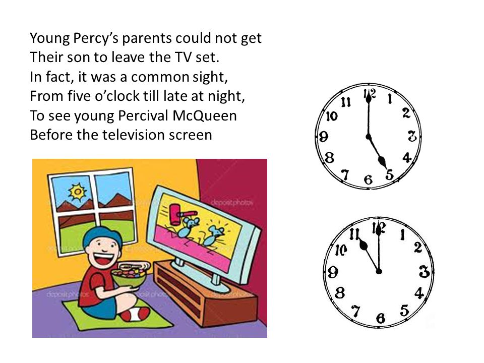 Young Percy's parents could not get