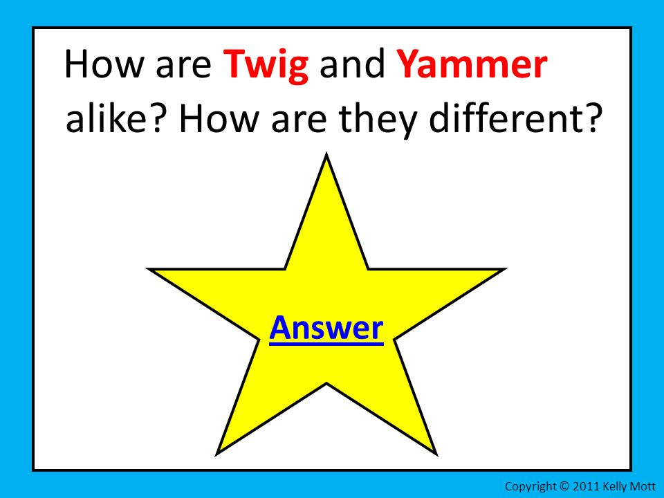 How are Twig and Yammer alike How are they different