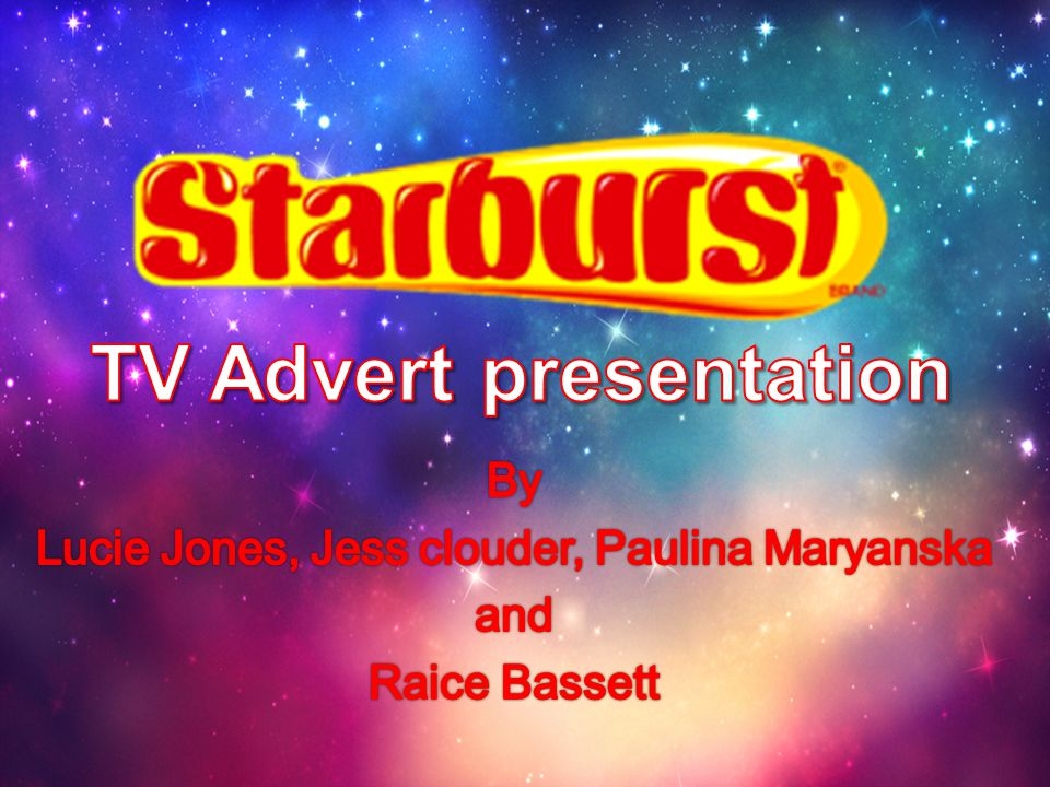 TV Advert presentation