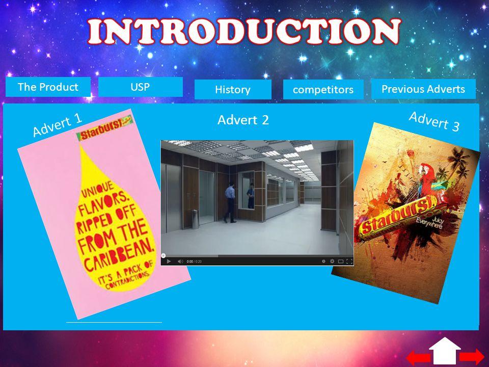 INTRODUCTION Advert 1 Advert 2 Advert 3