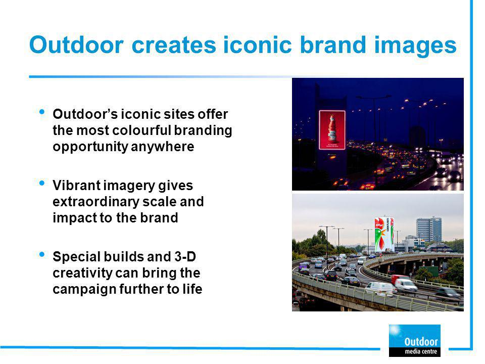 Outdoor creates iconic brand images