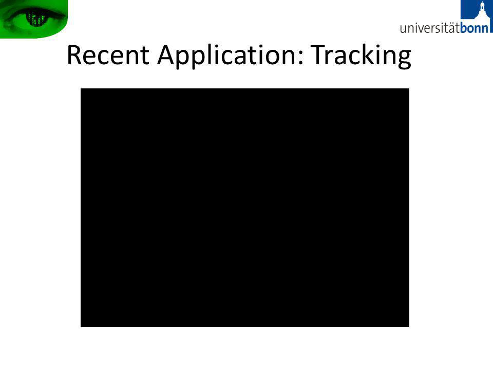 Recent Application: Tracking