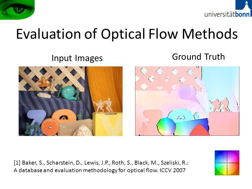 Evaluation of Optical Flow Methods