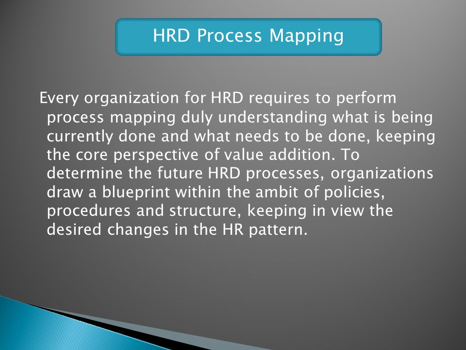 HRD Process Mapping