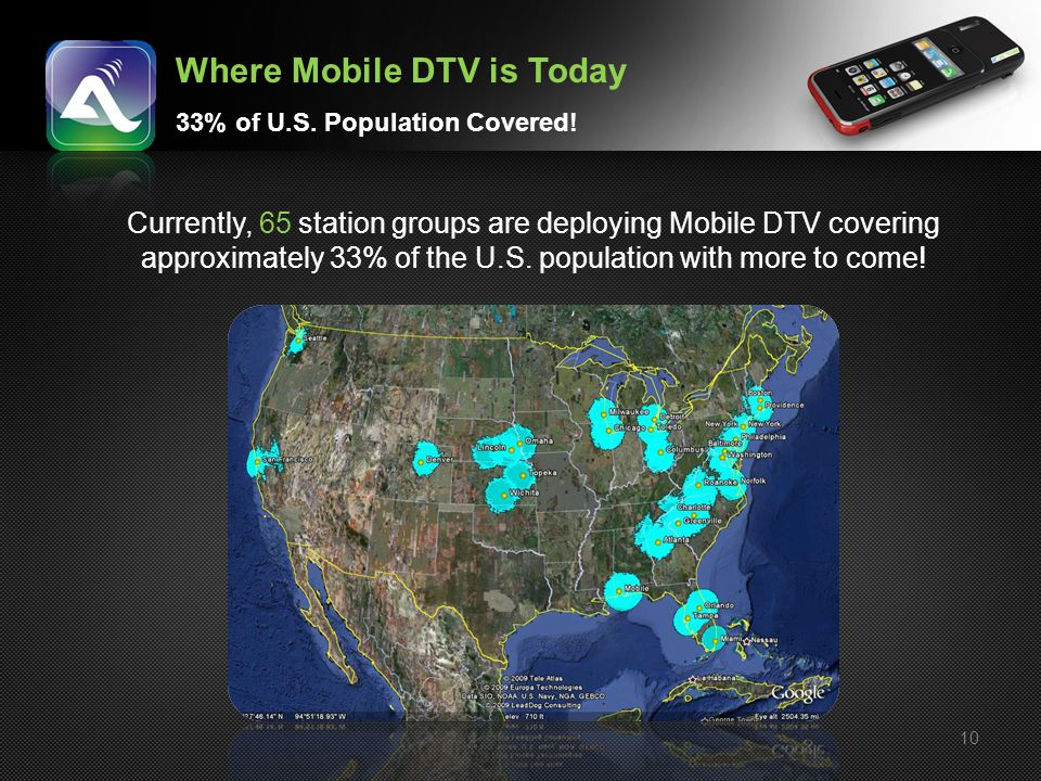 Where Mobile DTV is Today