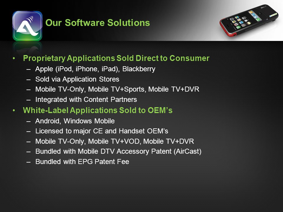 Our Software Solutions