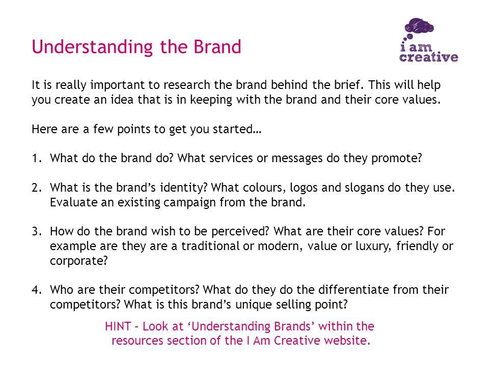 Understanding the Brand
