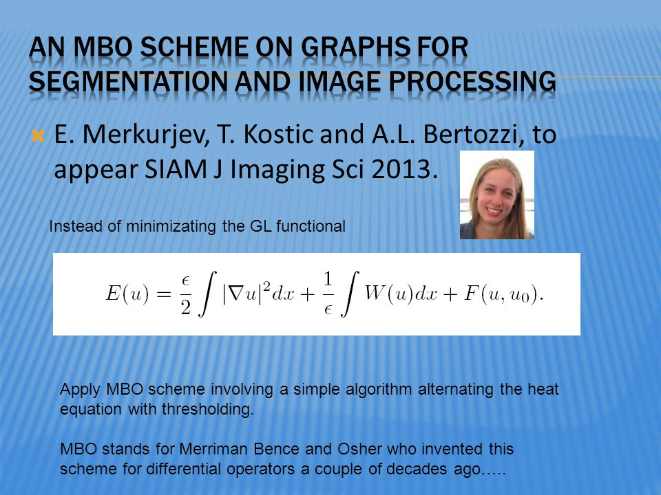 An MBO scheme on graphs for segmentation and image processing