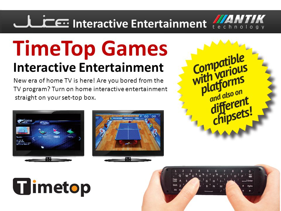TimeTop Games Interactive Entertainment Interactive Entertainment