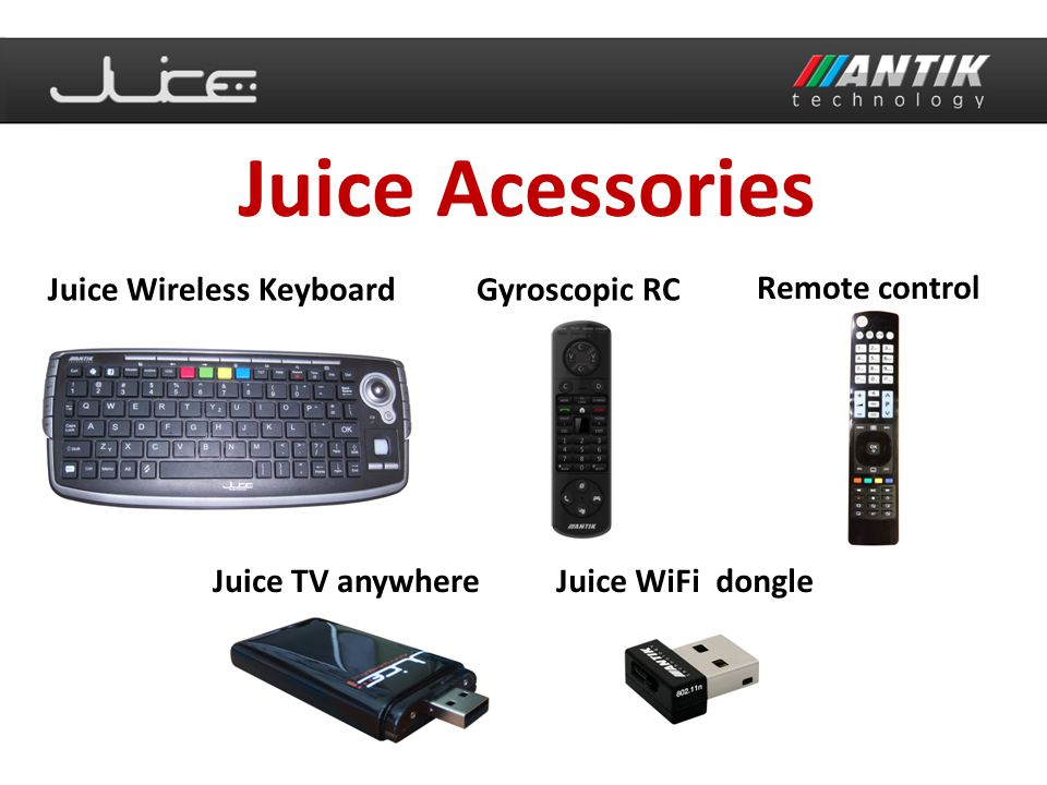 Juice Acessories Juice Wireless Keyboard Gyroscopic RC Remote control