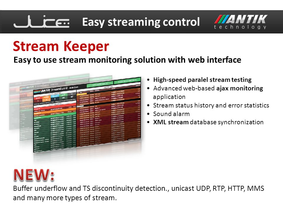 NEW: Stream Keeper Easy streaming control