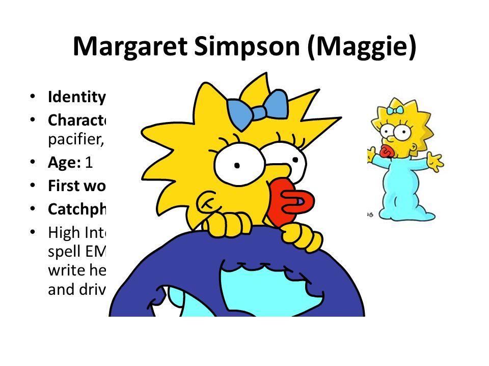 Margaret Simpson (Maggie)