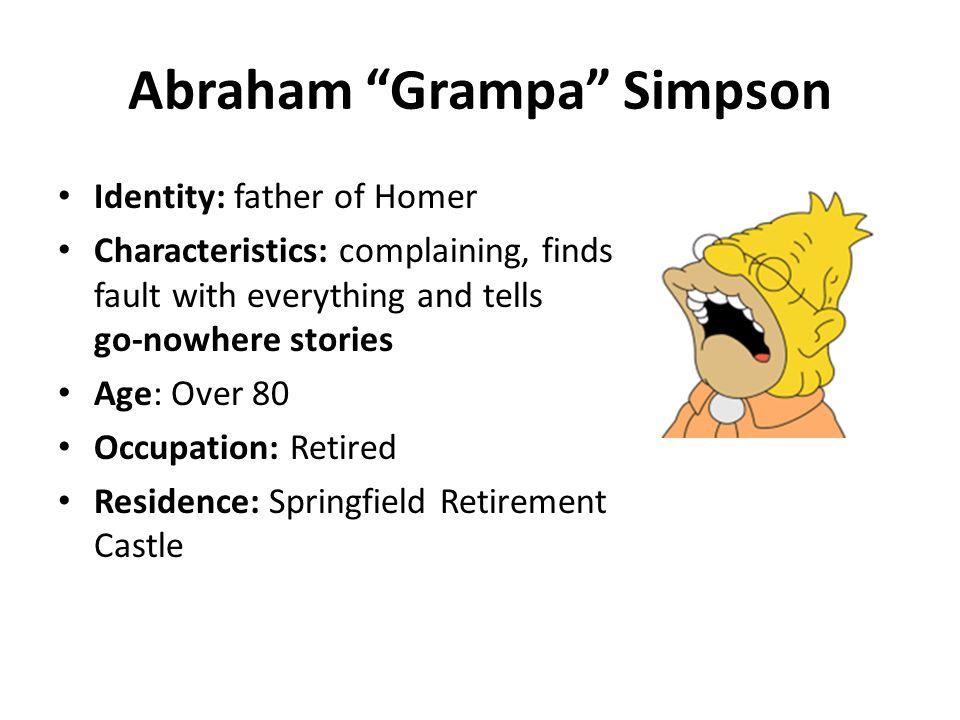 Abraham Grampa Simpson
