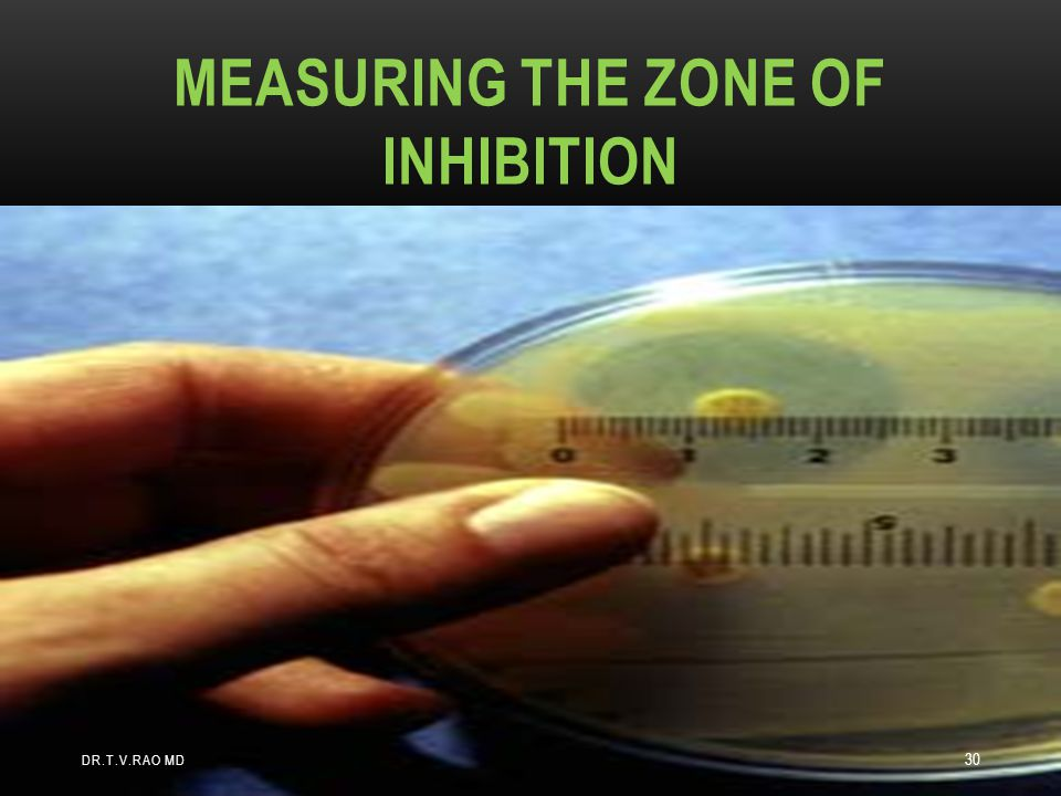 Measuring the Zone of Inhibition
