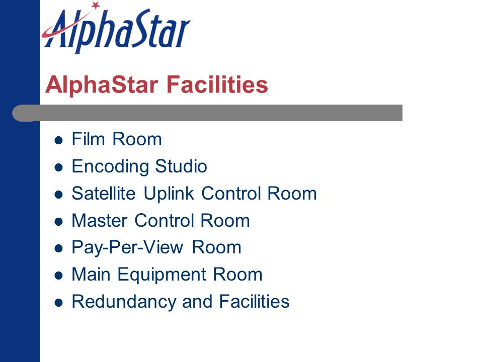 AlphaStar Facilities Film Room Encoding Studio