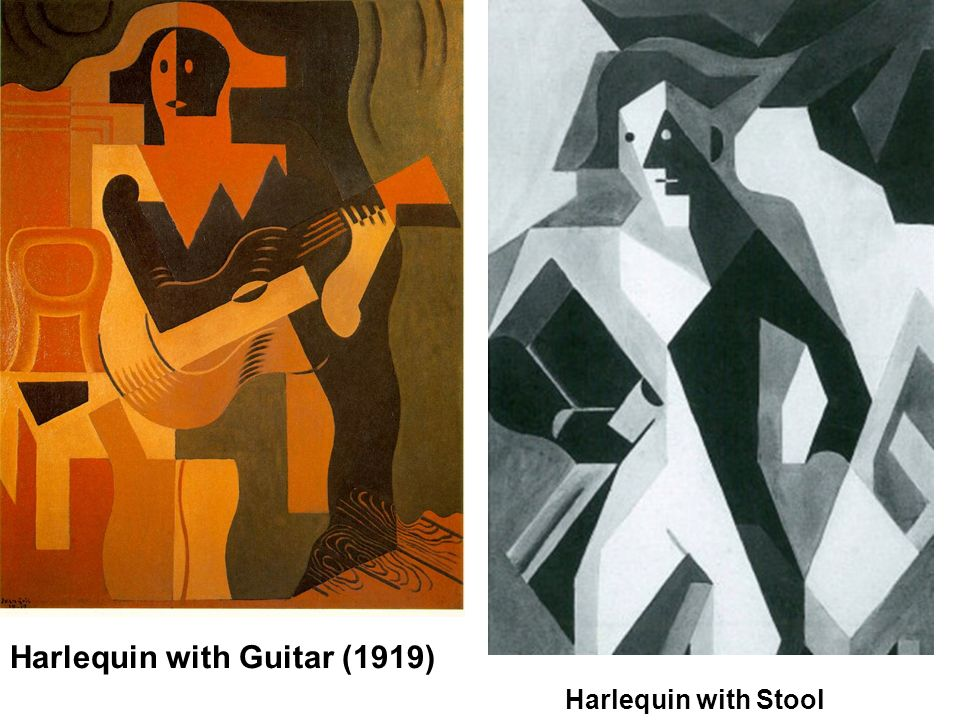 Harlequin with Guitar (1919)