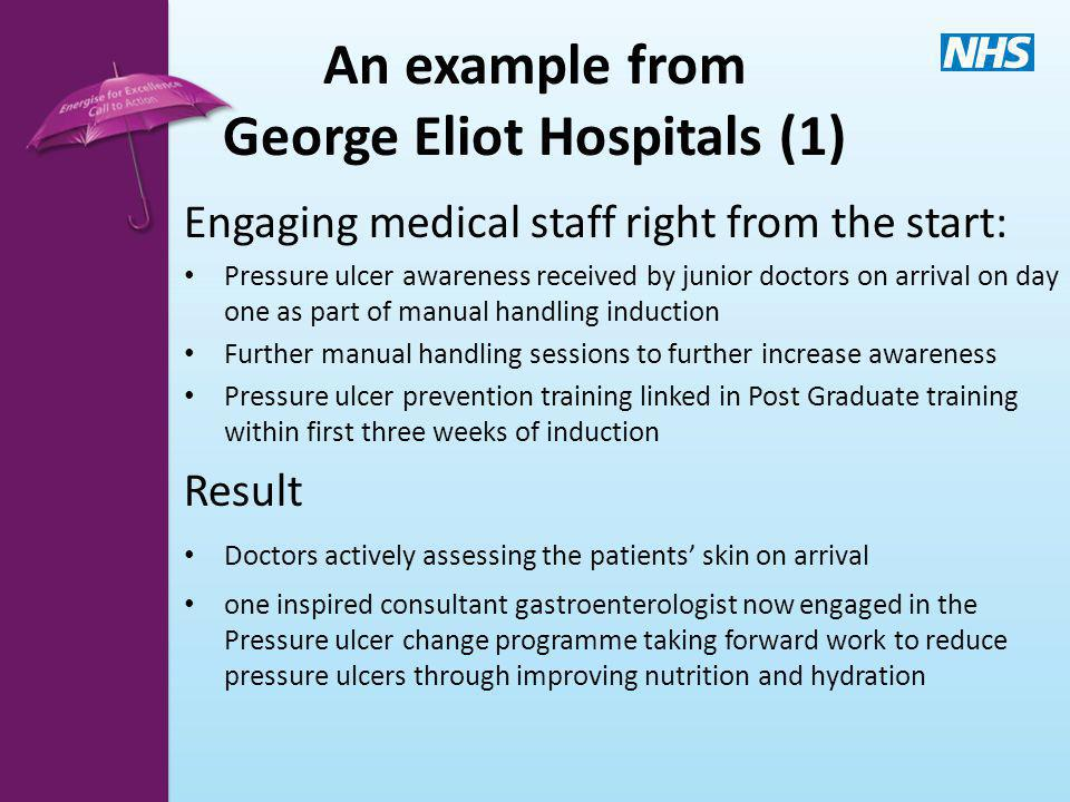 An example from George Eliot Hospitals (1)