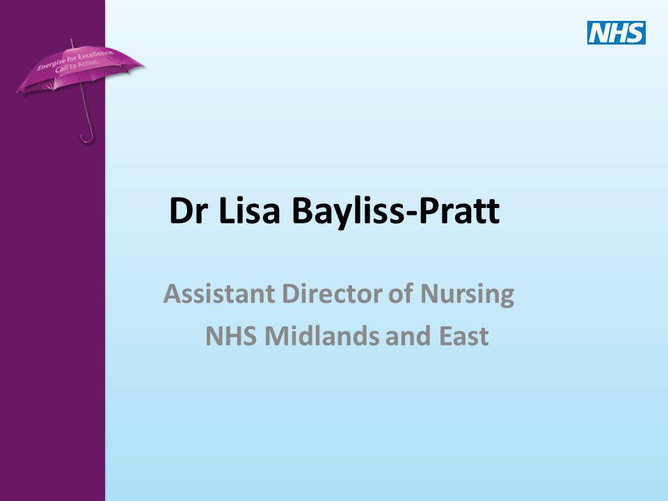 Assistant Director of Nursing NHS Midlands and East
