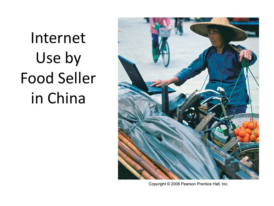 Internet Use by Food Seller in China