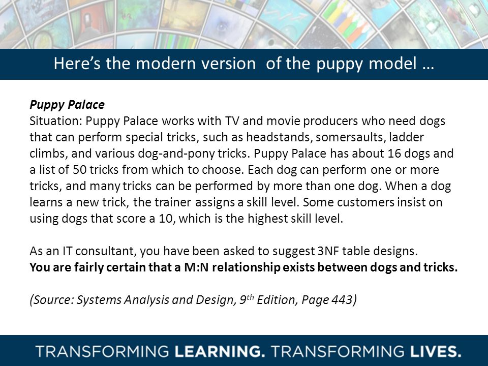 Here's the modern version of the puppy model …