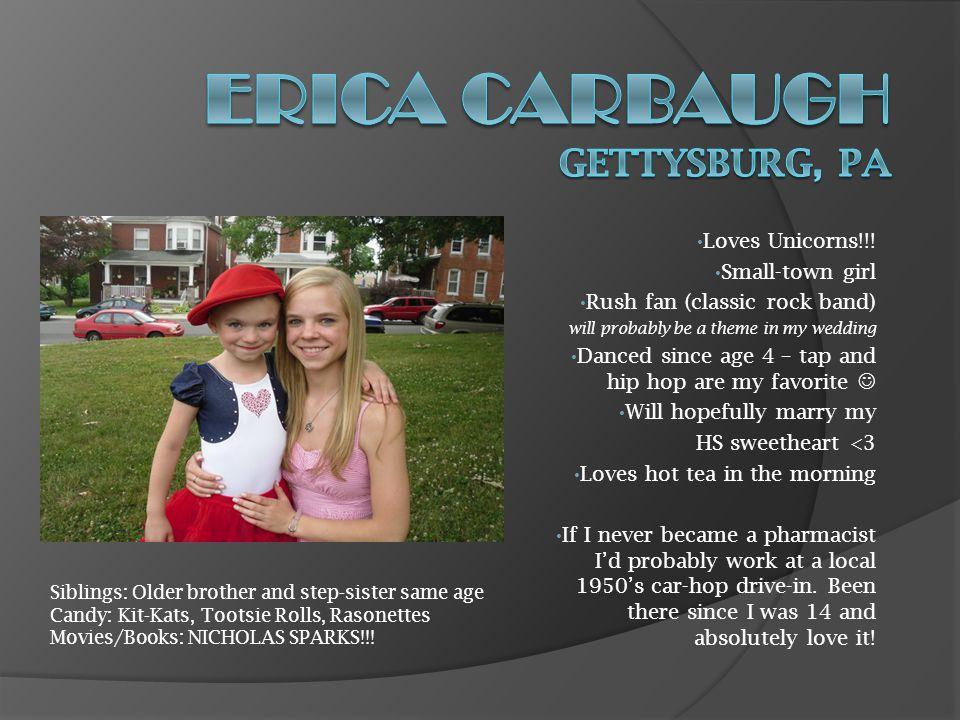Erica Carbaugh Gettysburg, Pa