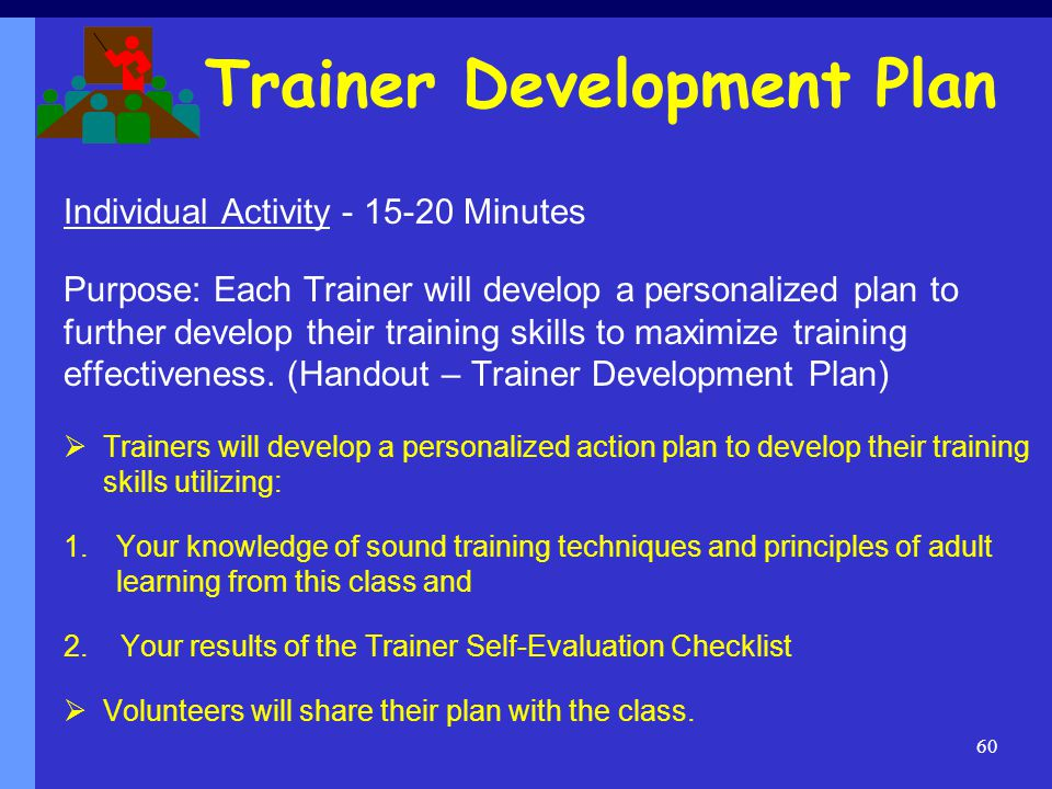 how to develop a training plan ppt