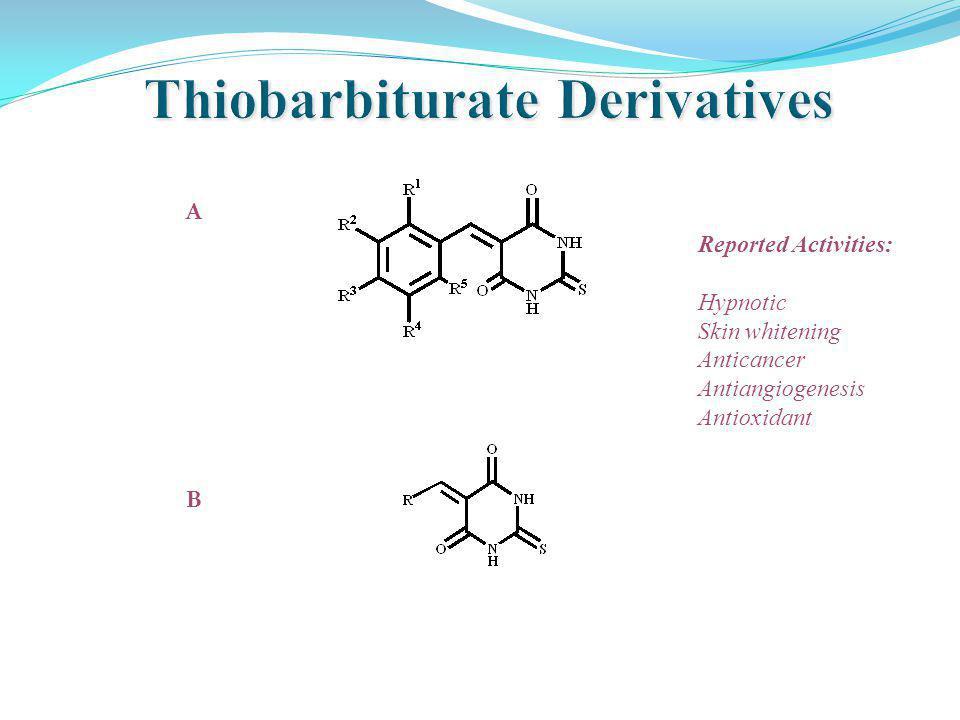 Thiobarbiturate Derivatives