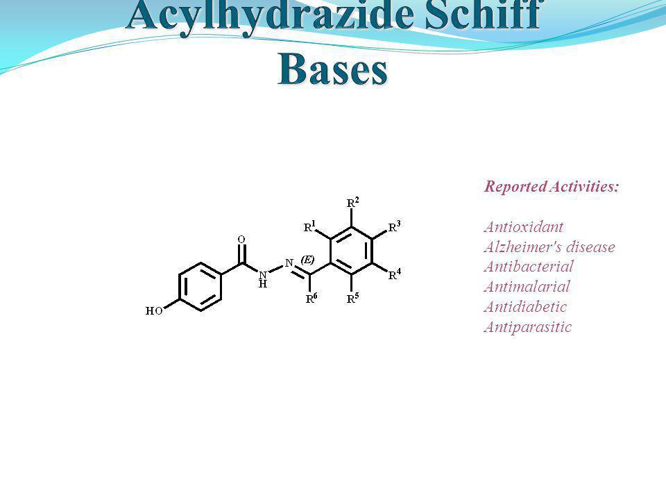 Acylhydrazide Schiff Bases