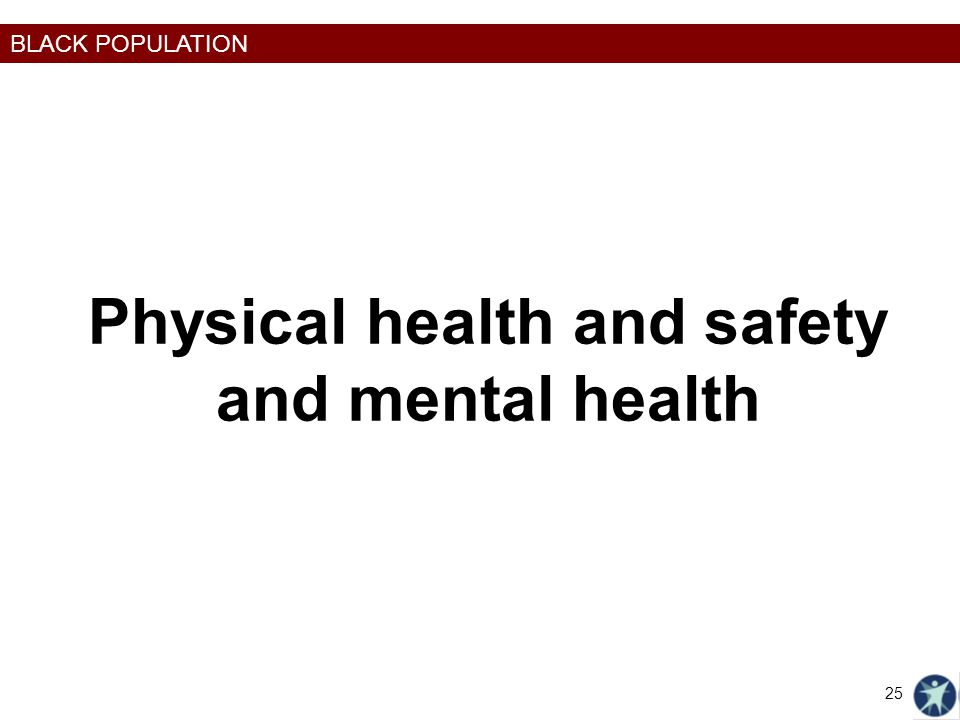 Physical health and safety and mental health