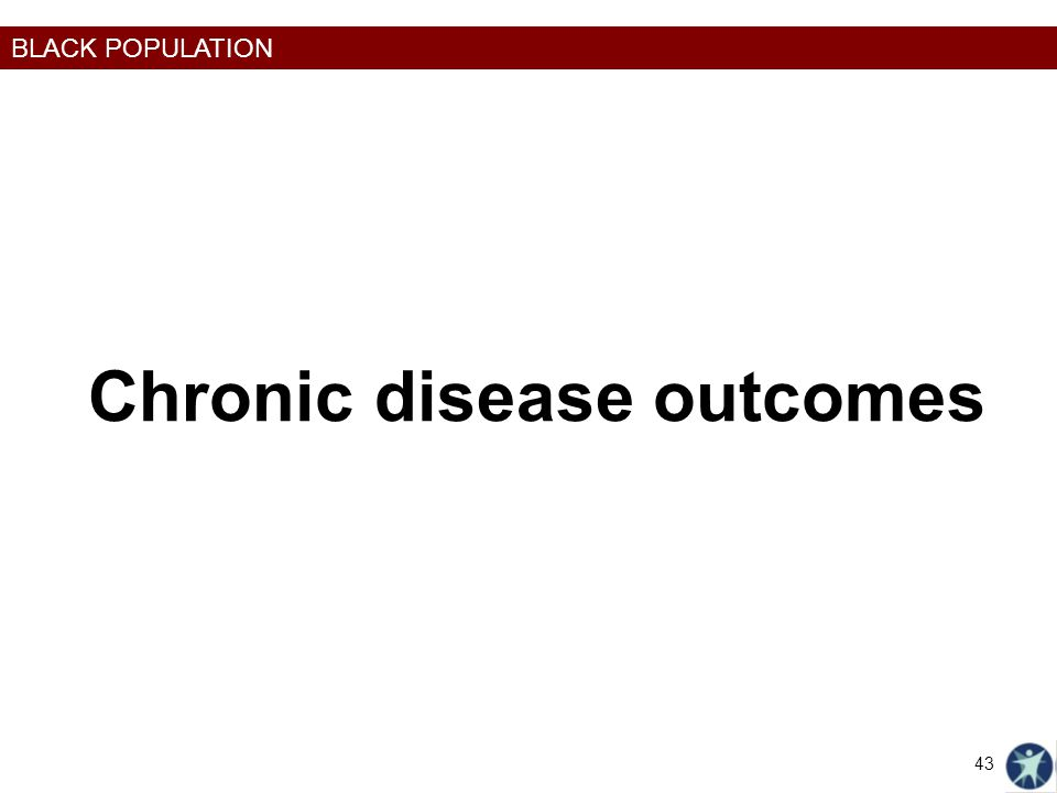 Chronic disease outcomes