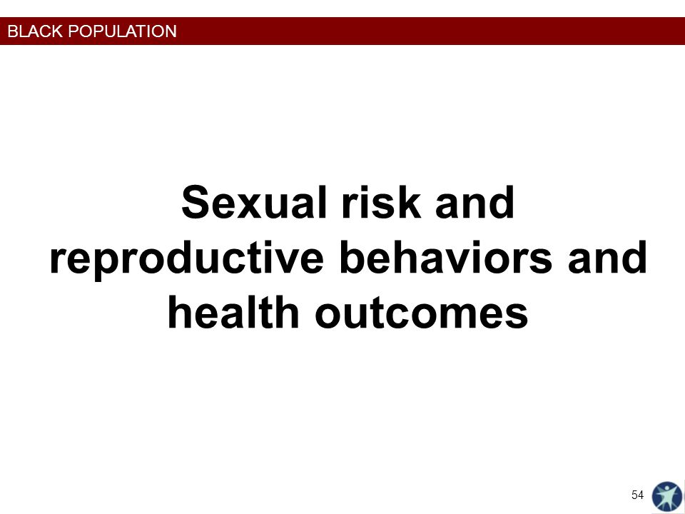 Sexual risk and reproductive behaviors and health outcomes