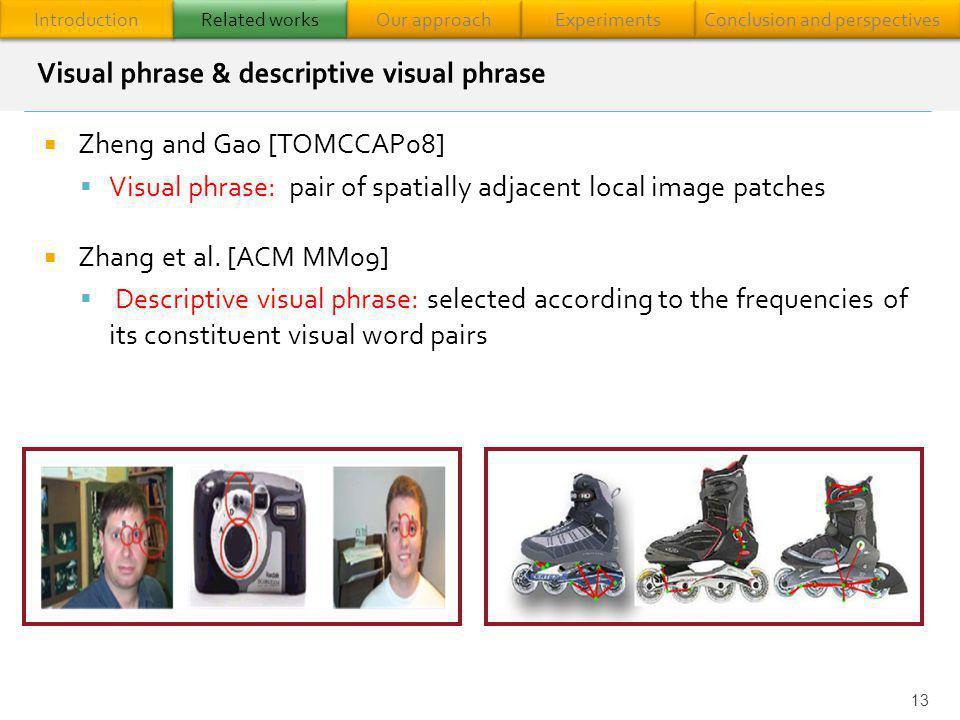 Visual phrase & descriptive visual phrase