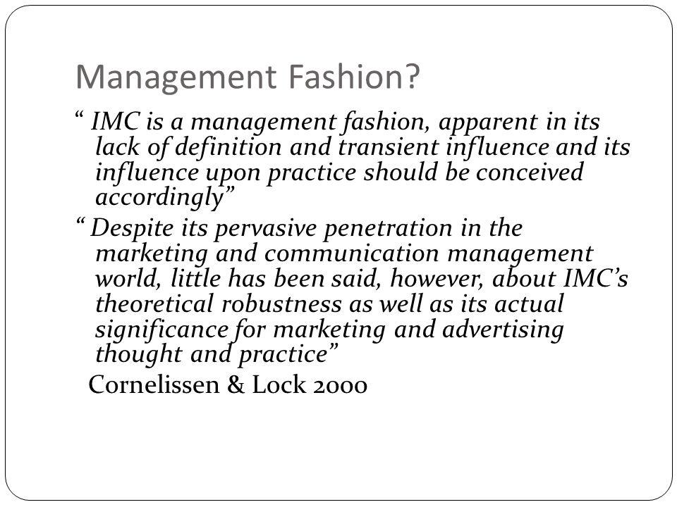Management Fashion