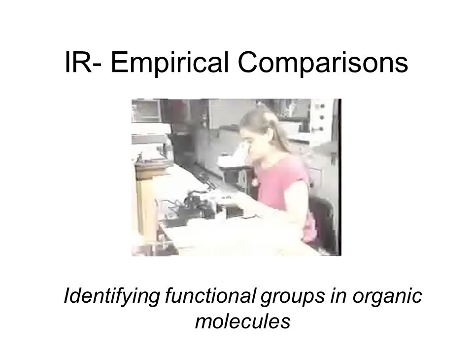 IR- Empirical Comparisons