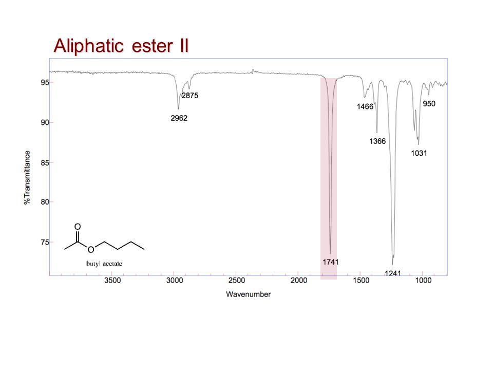 Aliphatic ester II
