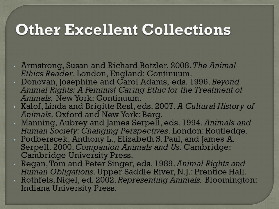Other Excellent Collections